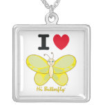 Hi Butterfly® Necklace Custom Jewelry
