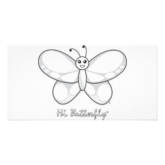Hi Butterfly® Photo Card