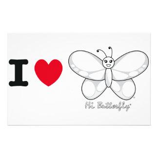 Hi Butterfly® Stationery