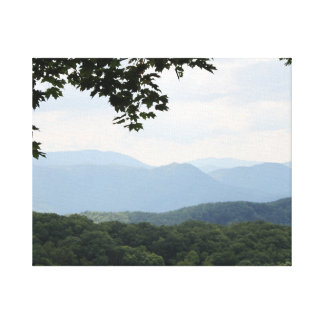 Hi-def photography Great Smoky Mountains canvas