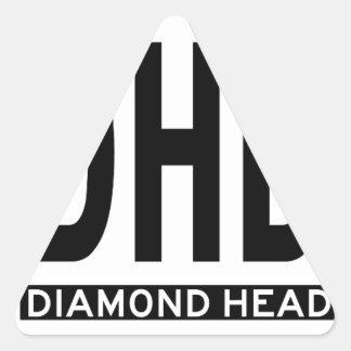 Hi-DIAMOND-HEAD-Sticker.jpg Pegatina Triangular