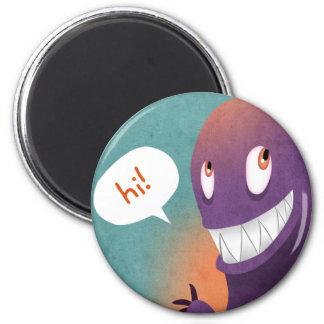 Hi Dude Magnet