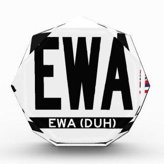 Hi-EWA-Sticker Acrylic Award