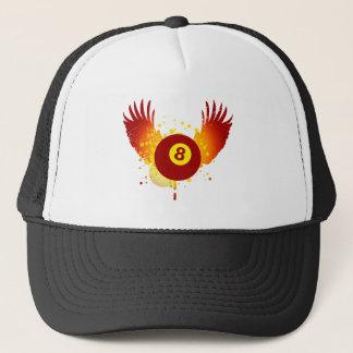 hi-fi billiards trucker hat