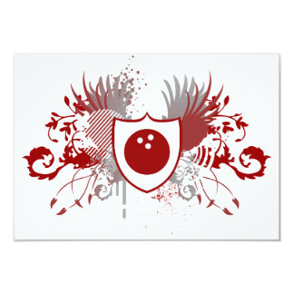 hi-fi bowling crest card