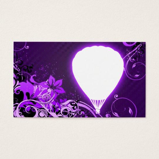 hi-fi hot air balloon business card