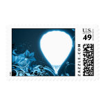 hi-fi hot air balloon postage stamps
