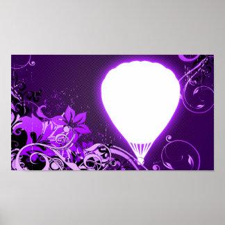 hi-fi hot air balloon poster