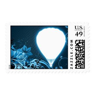 hi-fi hot air balloon stamp