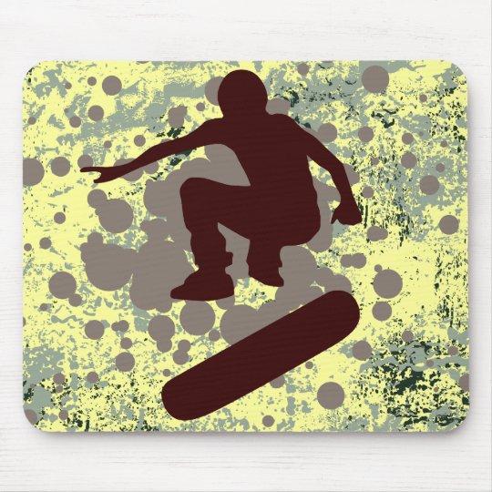 hi-fi skateboarding : bubbles : mouse pad