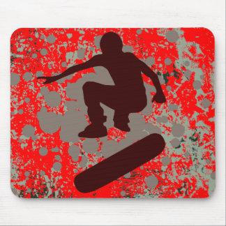 hi-fi skateboarding bubbles mouse mats