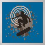 hi-fi skateboarding : bubbles : poster