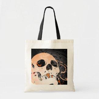 hi-fi skull 2 (trick or treat bag) tote bag