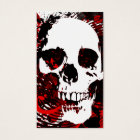 hi-fi skull business card
