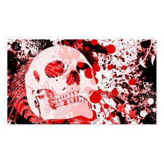 hi-fi skull business cards