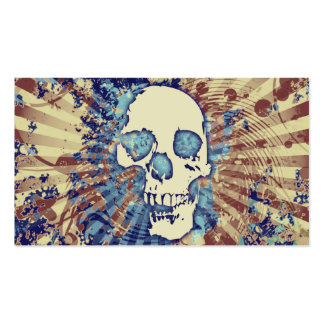 hi-fi skull Double-Sided standard business cards (Pack of 100)