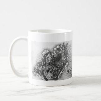 Hi Four Basic White Mug
