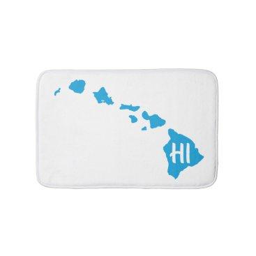 Hawaiian Themed HI - From the Hawaiian Islands Bathroom Mat