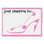 Hi Girlfriends Pink Shoes Cards