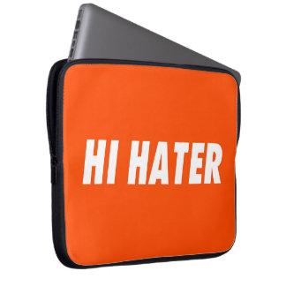 Hi hater - Bye hater Laptop Sleeve
