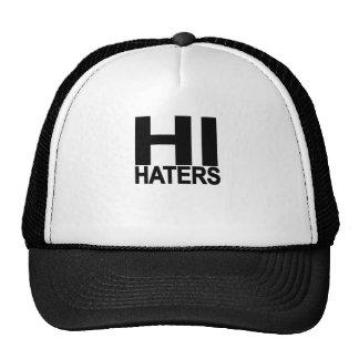 Hi hater Bye hater tee..png Trucker Hat