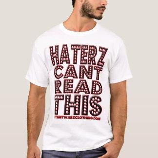 hi HATER HIP HOP t shirt