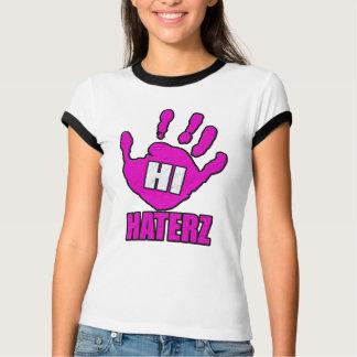 Hi haterz (pink) -- T-Shirt