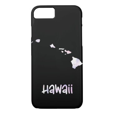 Hawaiian Themed HI Hawaii State Iridescent Opalescent Pearly iPhone 8/7 Case