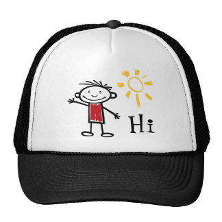 Hi, Hello, How are you? Trucker Hat