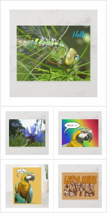 HI & HELLO Post- & Greeting Cards Collection