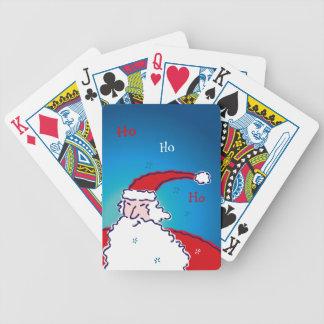 Hi Ho Santa Bicycle Playing Cards
