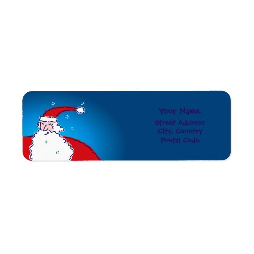 Hi Ho Santa Labels