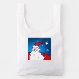 Hi Ho Santa Reusable Bag