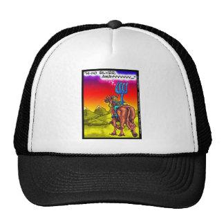 Hi Ho Silver? Fun Lone Ranger Parody Cartoon Gifts Trucker Hat