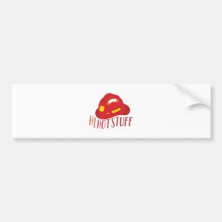 Hi Hot Stuff Bumper Sticker