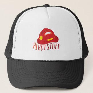 Hi Hot Stuff Trucker Hat