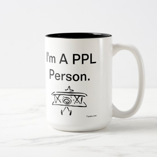 Hi. I'm a PPL Person. Two-Tone Coffee Mug