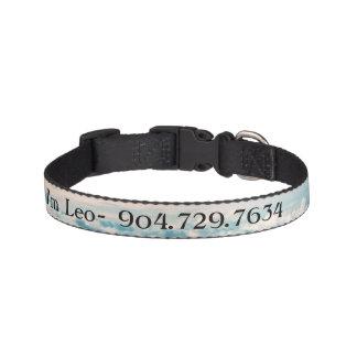 Hi I'm Leo- Customized Dog Collar