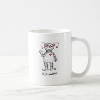 Hi Im Marssy Classic White Coffee Mug