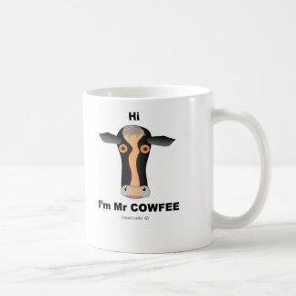 Hi I'm Mr COWfee Coffee Mug