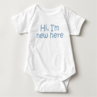 Hi, I'm new here Baby Bodysuit