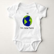 Hi. I'm new here. Funny infant creeper
