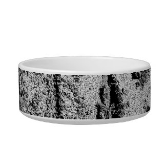 Hi in sand black and white feet hand pet food bowl