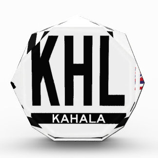 Hi-KAHALA-Sticker Acrylic Award