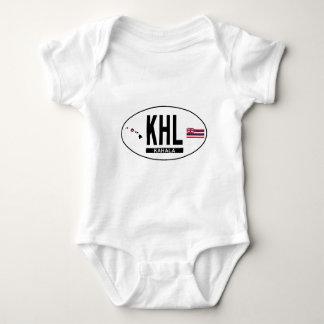 Hi-KAHALA-Sticker Baby Bodysuit