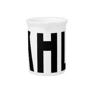 Hi-KAHALA-Sticker Beverage Pitcher