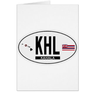 Hi-KAHALA-Sticker Card