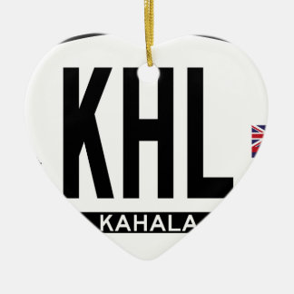 Hi-KAHALA-Sticker Ceramic Ornament