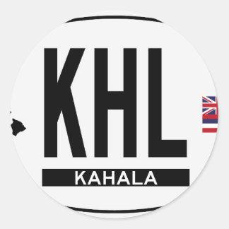 Hi-KAHALA-Sticker Classic Round Sticker