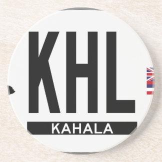 Hi-KAHALA-Sticker Drink Coaster